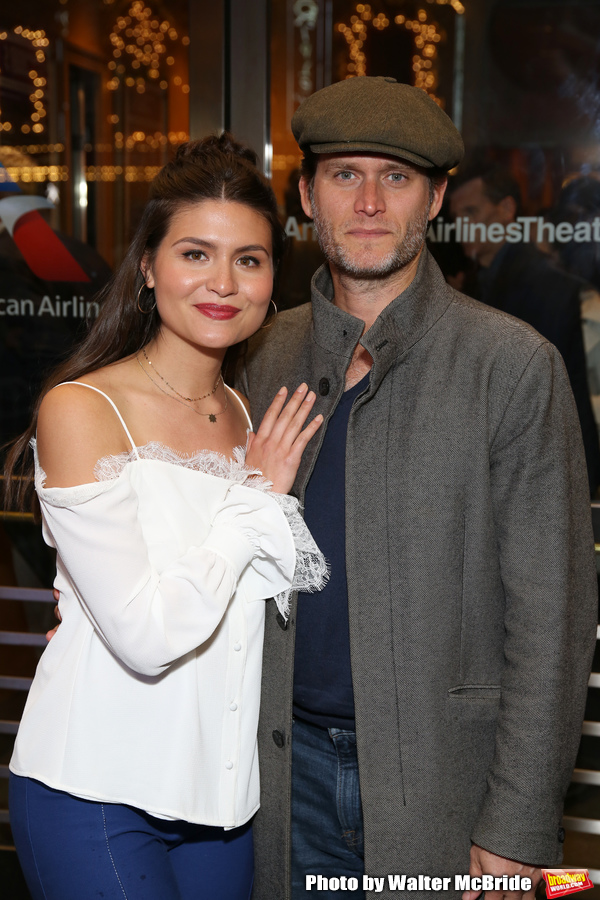 Phillipa Soo and Steven Pasquale  Photo