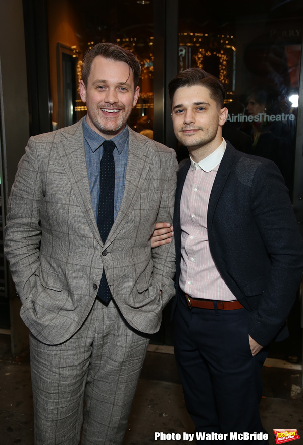 Michael Arden and Andy Mientus...