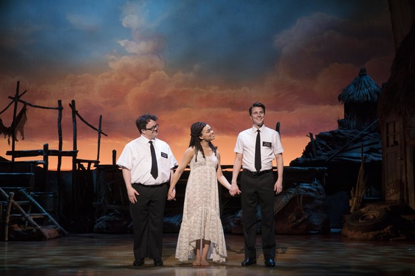 BWW Exclusive: A Brand New Look at THE BOOK OF MORMON on Broadway!