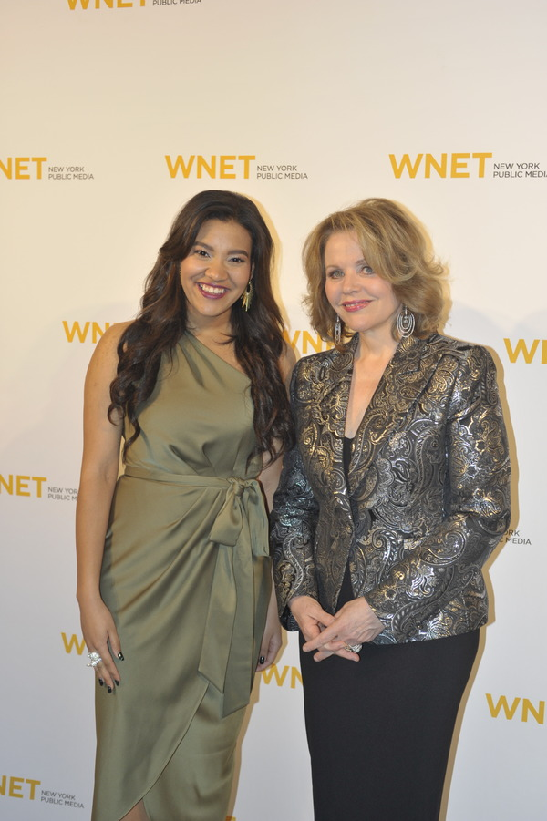 Shireen Pimentel and Renee Fleming