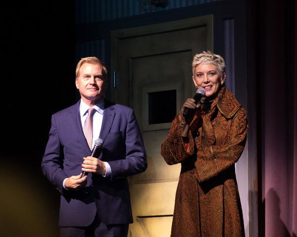 Tom McCoy with Patricia Ward Kelly Photo