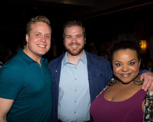 Jordan Goodsell, Justin Liekhus, and Amber Liekhus