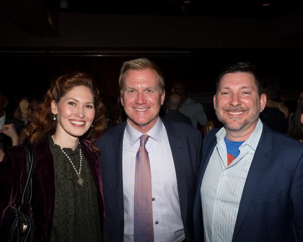 April Malina, Tom McCoy, and Jason Niedle Photo