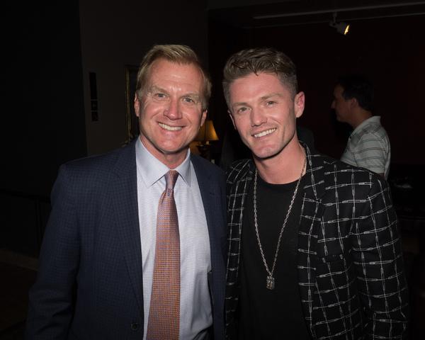 Tom McCoy with Director/Choreographer Spencer Liff