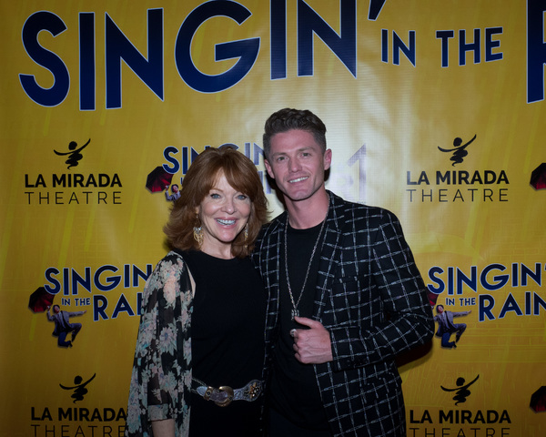 Photo Coverage: Curtain Call And Press Night Celebration of SINGIN' IN THE RAIN At La Mirada Theatre