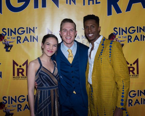 Kimberly Immanuel, Michael Starr, and Brandon Burks Photo