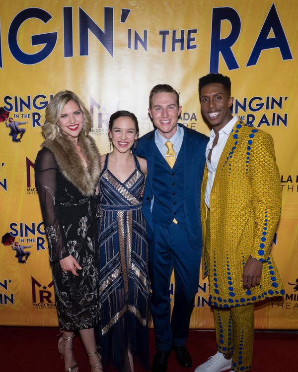 Sara King, Kimberly Immanuel, Michael Starr, and Brandon Burks Photo