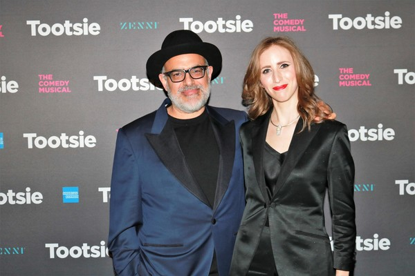 David Yazbek and Andrea Grody Photo