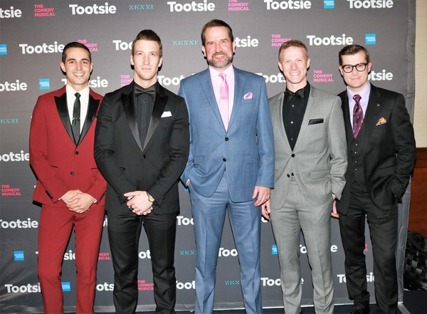 Drew King, John Arthur Green, James Moye, Jeff Kready and Nick Spangler