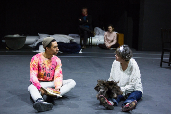Photo Flash: Inside Rehearsal For THE GLASS PIANO The Print Room At The Coronet