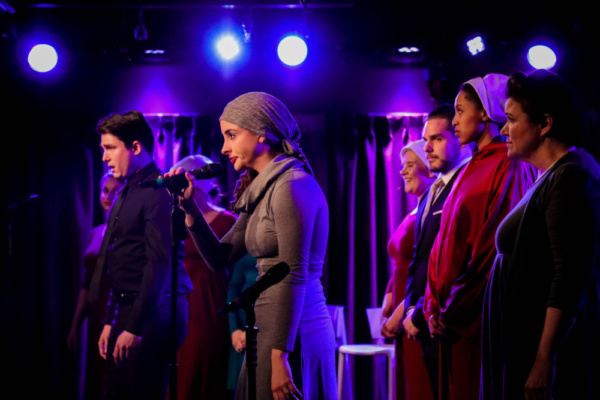 Photo Flash: A Look At THE HANDMAID'S MUSICAL: A Dystopian Tale At Green Room 42