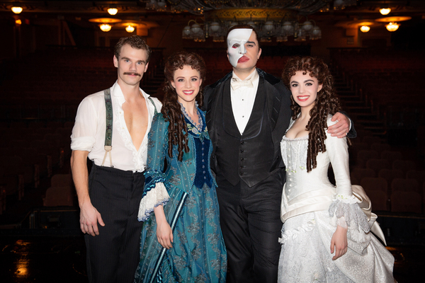 Photo Flash: THE PHANTOM OF THE OPERA Celebrates 13,000 Performances on Broadway