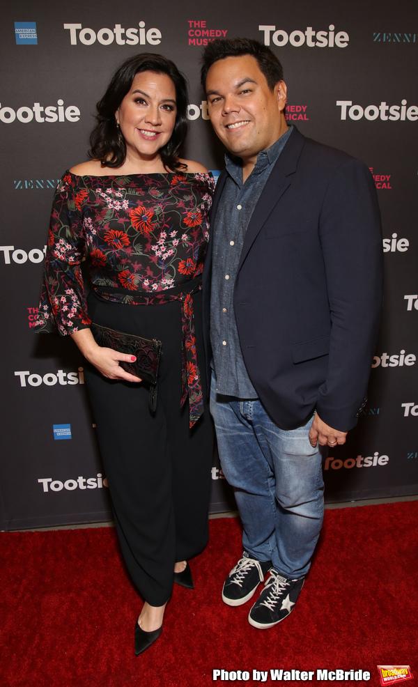 Kristen Anderson Lopez and Robert Lopez