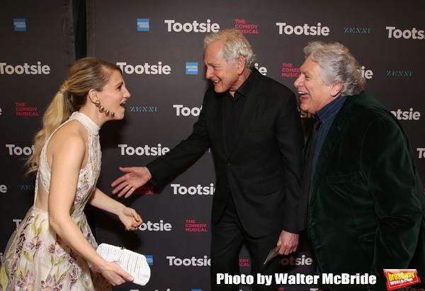 Annaleigh Ashford, Victor Garber and Harvey Fierstein Photo