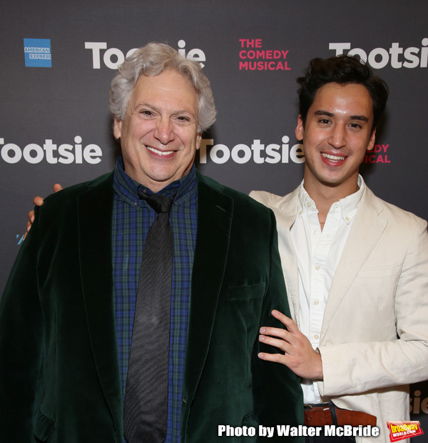 Harvey Fierstein and Michael Rosen Photo