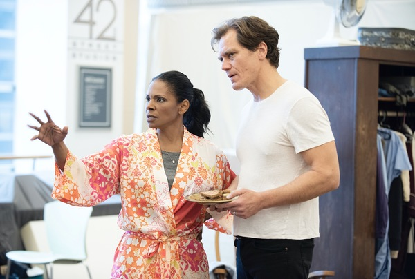 Photo Flash: Audra McDonald and Michael Shannon Rehearse for FRANKIE & JOHNNY IN THE CLAIR DE LUNE