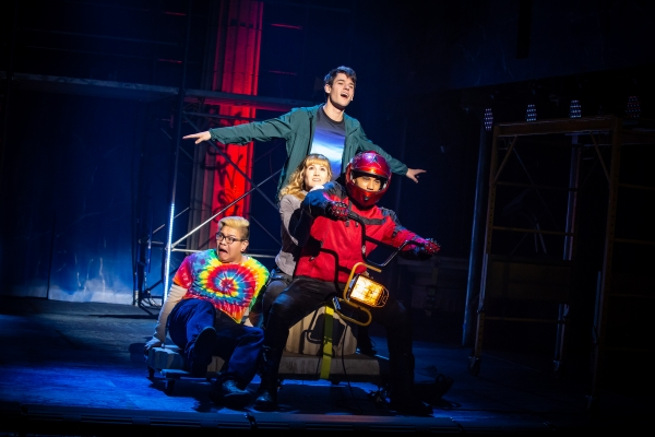BWW Review: THE LIGHTNING THIEF at the 5th Ave is Fun and Frothy ... If You're Twelve