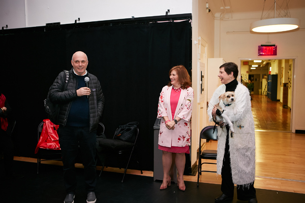 Gregory Mosher, Jennifer J. Raab & Isabella Rossellini