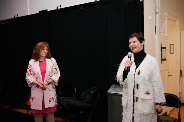 Jennifer J. Raab & Isabella Rossellini