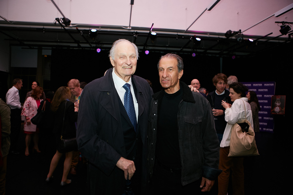 Alan Alda & Sasson Gabay Photo