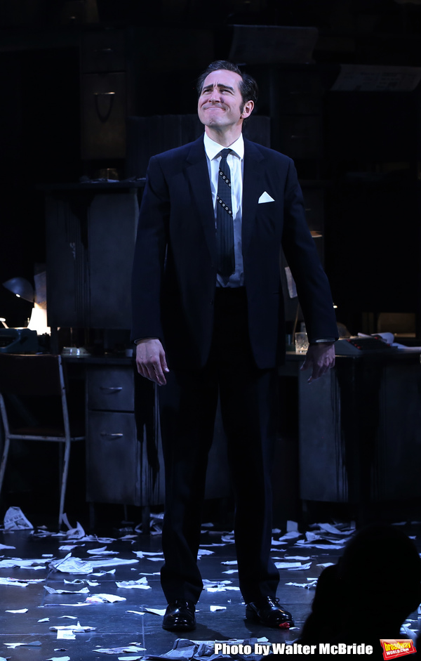 Photo Coverage: Johnny Lee Miller, Bertie Carvel, and the Cast of INK Takes Their Opening Night Bows!