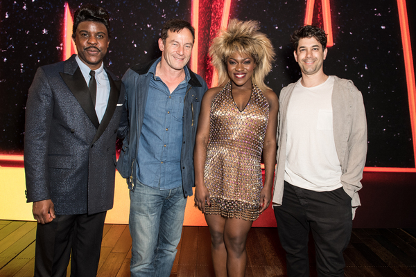 Ashley Zhangazha, Jason Isaacs, Nkeki Obi-Melekwe, and Adam Garcia Photo