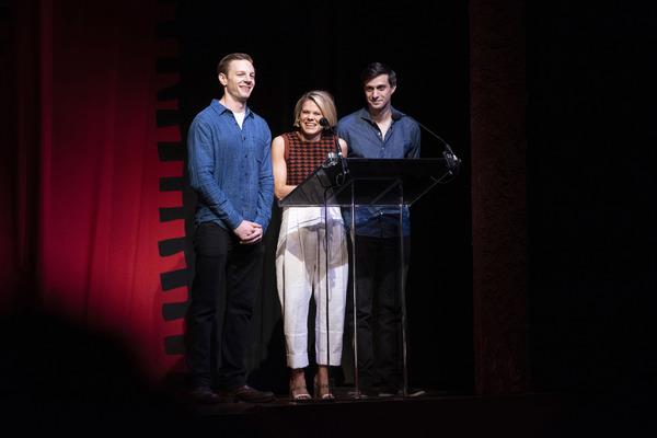Will Pullen, Celia Keenan-Bolger, Gideon Glick Photo