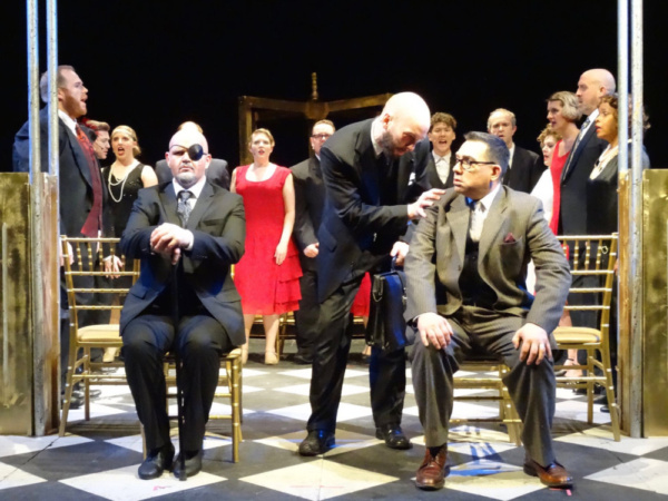 Photo Flash: First Look at the Barn Players' Regional Premiere of GRAND HOTEL