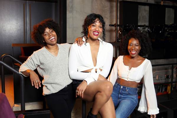 Photo Flash: BLKS Cast Poses in MCC's New Theatre Space!