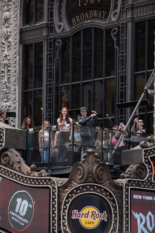 Photo Coverage: ROCK OF AGES Celebrates 10th Anniversary with Pop Up At Hard Rock Cafe!