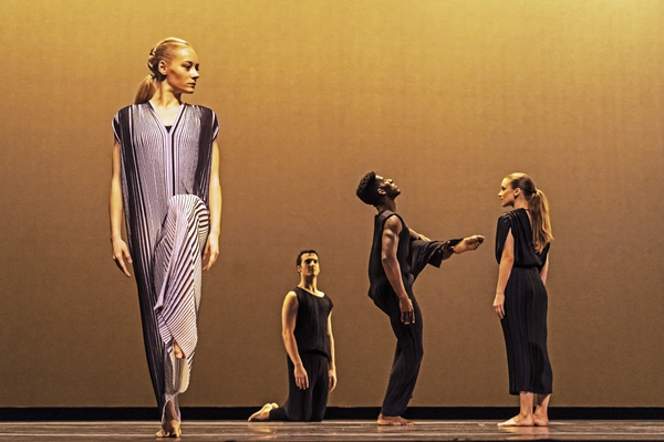 Charlotte Landreau, Lorenzo Pagano, Lloyd Knight and Anne O'Donnell in Pam Tanowitz's Photo