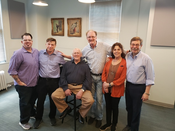 Josh Iacovelli, Mark Janas, Len Cariou, Ken Denison, Donna Trinkoff, Barry Kleinbort Photo