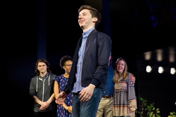 Photo Coverage: DEAR EVAN HANSEN Celebrates 1000 Performances on Broadway