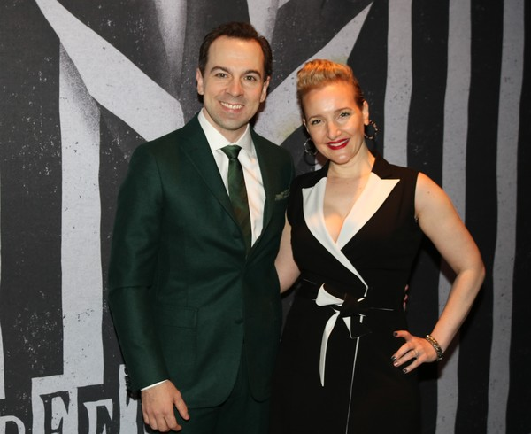 Rob McClure and Maggie Lakis