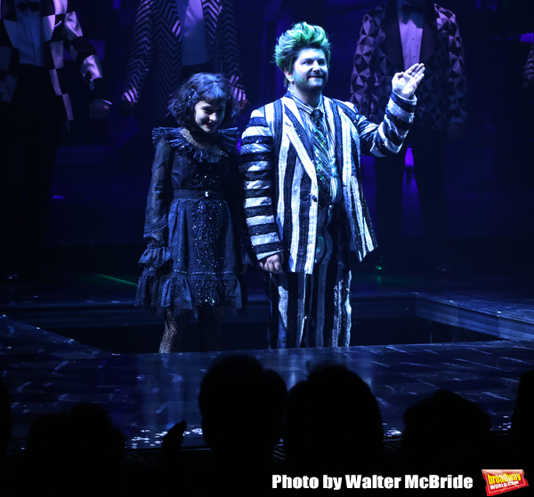 Photo Coverage: BEETLEJUICE Opening Night: Say This Three Times! The Cast Takes Their Opening Night Bows!