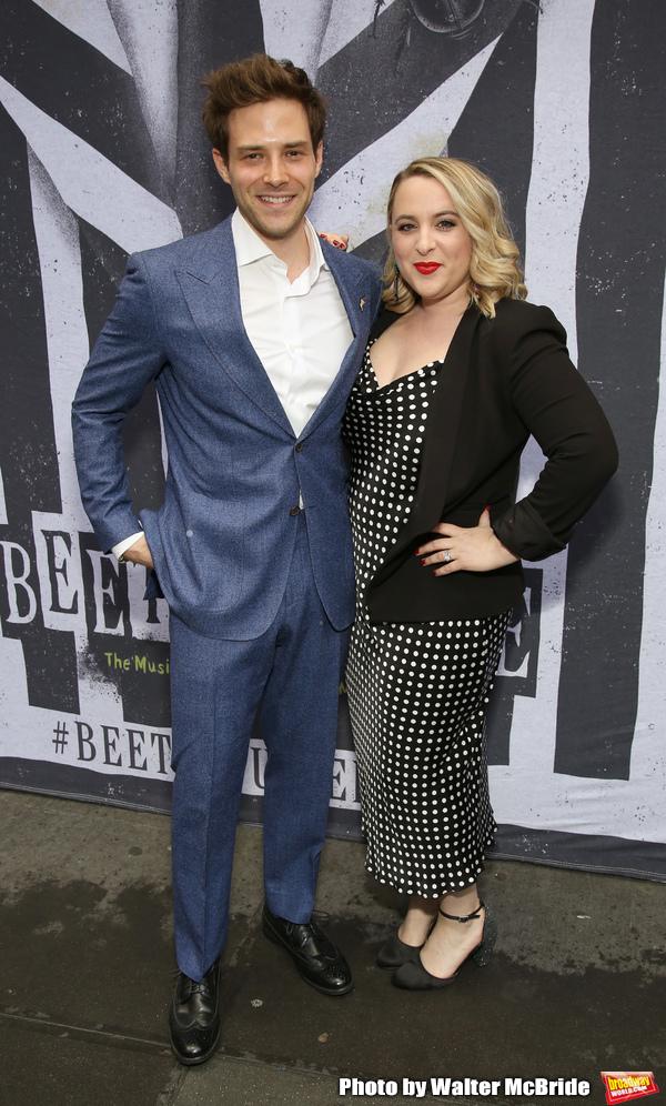 Ben Rappaport and Megan Kane Photo