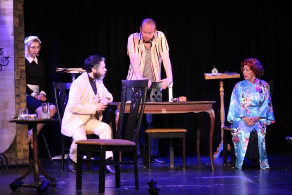 Lara Schr er, Joseph Raik, John Dillon and Sue-Ellen Mandell Photo