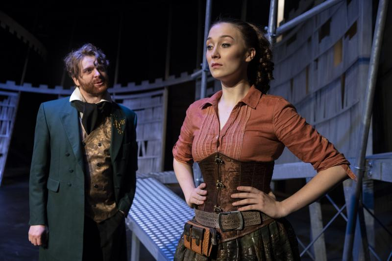 BWW REVIEW: George Bernard Shaw's Edwardian Expression Of The Greek Myth Is Given A Steampunk Aesthetic In New Theatre's PYGMALION
