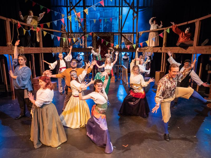 BWW Review: THE HUNCHBACK OF NOTRE DAME Proves Nothing's Changed in 500 Years at Midland University Kimmel Theatre