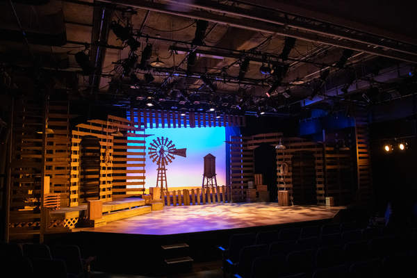 Set Design and Scenic Artistry by Brian Watson; Lighting Design by Michael Palumbo