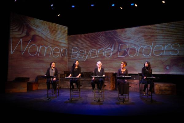 Zilah Mendoza, Joanne Nguyen, Meredith Baxter, Jennifer Leigh Warren and Ulka Simone Mohanty