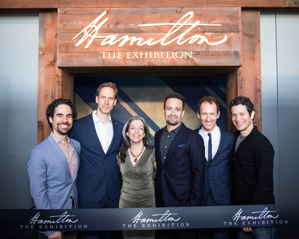 Photo Flash: Lin-Manuel Miranda and More Attend the Ribbon-Cutting Ceremony For HAMILTON: The Exhibition