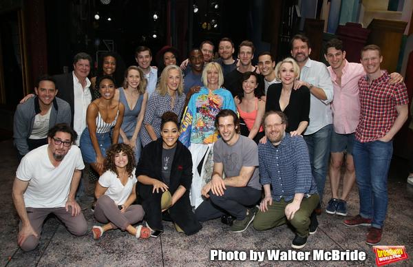 Santinio Fontana, Reg Rogers, Michael McGrath, Sarah Stiles, Lilli Cooper, John Behlmann, Andy Grotelueschen and Julie Halston with cast