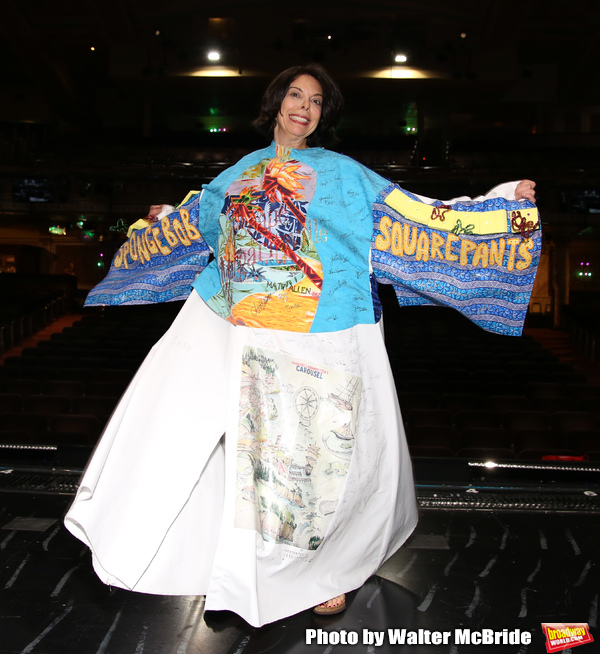Photo Coverage: Jill Abramovitz Receives the Legacy Robe For BEETLEJUICE!