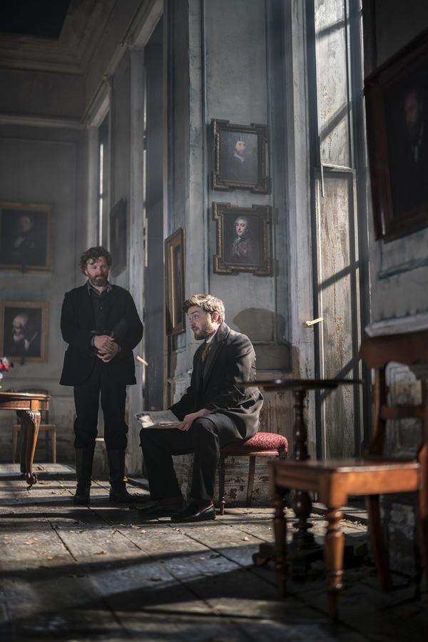 Photo Flash: First Look at Hayley Atwell and the Cast of ROSMERSHOLM in Action