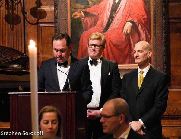 David Rosenbloom, Gus Rosendale, Even Steen, Gala Chairs