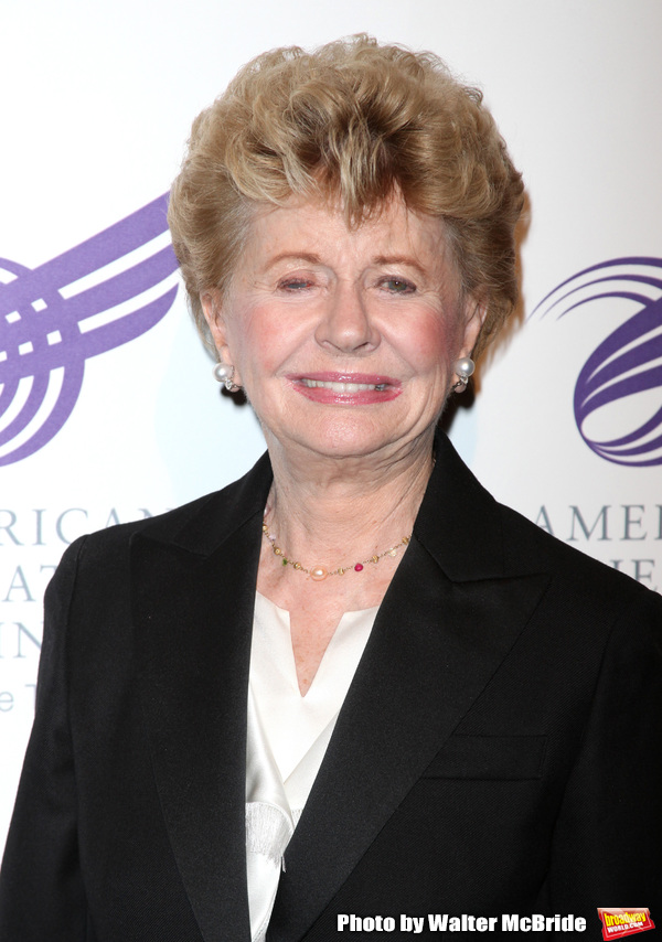 Jo Sullivan Loesser attending The 2010 American Theatre Wing Gala celebrating the Cen Photo