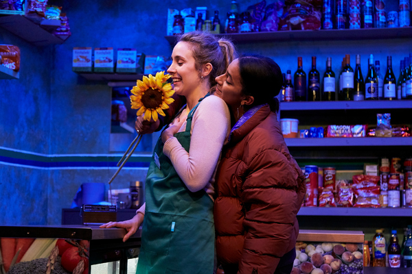 Olivia Rose Smith (Katie) and Fanta Barrie (Hope)  Photo