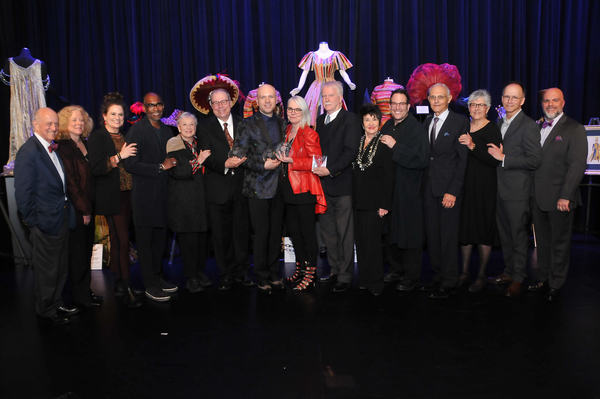 TDF's chair Earl D. Weiner, TDF's executive director Victoria Bailey, Cady Huffman, Paul Tazewell, Jane Greenwood, Rodney Gordon, Mio Guberinic, Susan Hilferty, John Lee Beatty, Chita Rivera, Michael Mayer, Tobin Theatre Arts Fund's: Mel Weingart, L