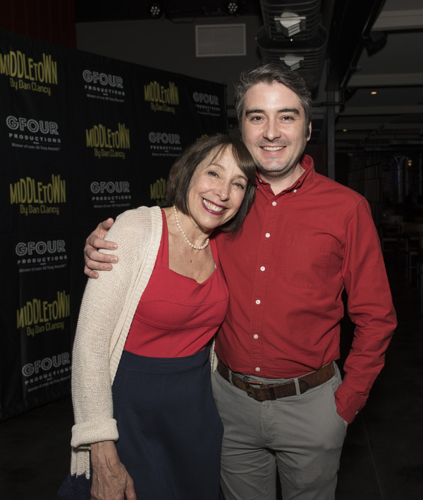 Didi Conn and Producer Josh Fiedler